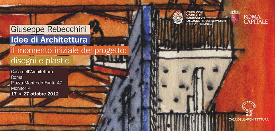 Giuseppe Rebecchini - Idee di Architettura